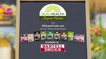 Real Health Superfoods SuperGreens TV Spot, 'Drink Your Veggies' - Thumbnail 9
