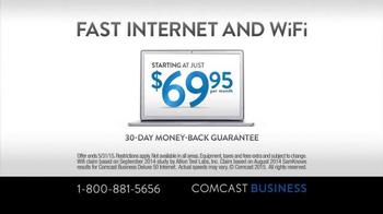 Comcast Business TV Spot, 'Walking Your Business' - Thumbnail 4