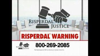 Risperdal Justice TV Spot, 'Risperdal Warning'