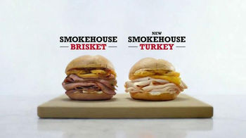 Arby's Smokehouse Turkey TV Spot, 'Real Fire, Real Sandwiches' - Thumbnail 4