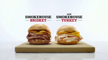 Arby's Smokehouse Turkey TV Spot, 'Real Fire, Real Sandwiches' - 1748 commercial airings