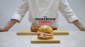 Arby's Smokehouse Turkey TV Spot, 'Eight Hours' - 1106 commercial airings