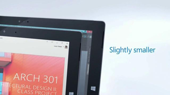 Microsoft Surface 3 TV Spot, '3, 2, 1...Go!' - Thumbnail 4