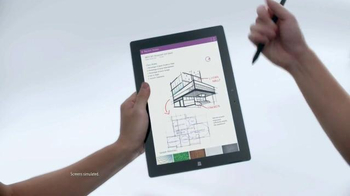 Microsoft Surface 3 TV Spot, '3, 2, 1...Go!' - Thumbnail 6