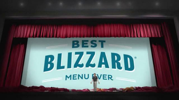 Dairy Queen TV Spot, 'Best Blizzard Menu Ever'