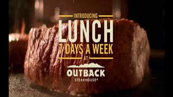 Outback Steakhouse TV Spot, 'Lunch Every Day'