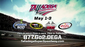 Talladega Superspeedway TV Spot, \'Escape Reality\'