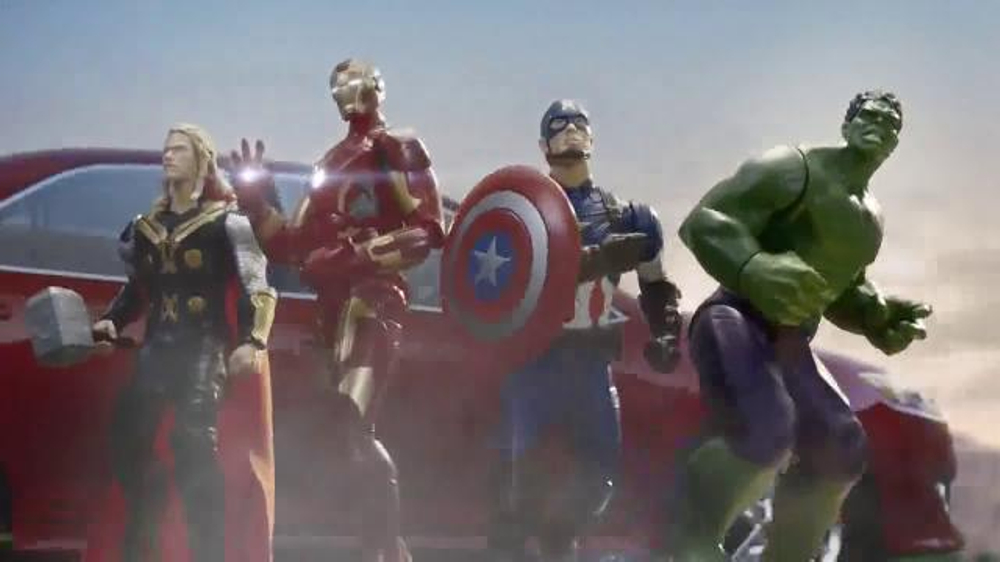 Target TV Commercial, 'Avengers as Action Figures' - Video