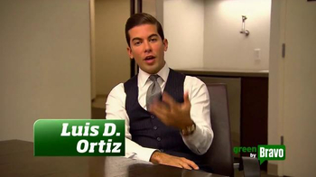Green is Universal TV Spot, 'Bravo Green Tip' Featuring Luis D. Ortiz