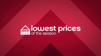 Ashley Lowestest Prices of the Season Sale TV Spot, 'Drastic Reduction' - 1417 commercial airings