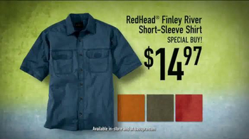 Bass Pro Shops TV Spot, 'RedHead Finley River Shirts' - Thumbnail 6