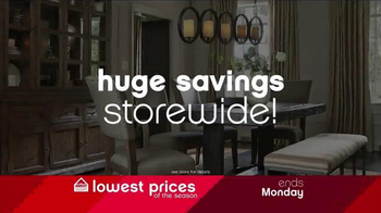 Ashley Lowestest Prices of the Season Sale TV Spot, 'Never a Better Time' - Thumbnail 2