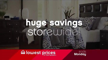 Ashley Lowestest Prices of the Season Sale TV Spot, 'Never a Better Time' - Thumbnail 3