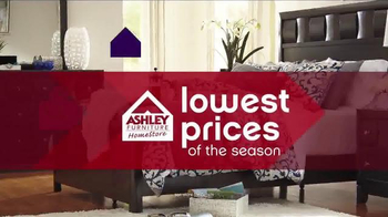 Ashley Lowestest Prices of the Season Sale TV Spot, 'Never a Better Time' - 2 commercial airings
