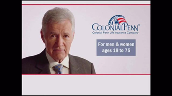 Colonial Penn TV Spot, 'A Company Who Can Help' Featuring Alex Trebek - Thumbnail 1