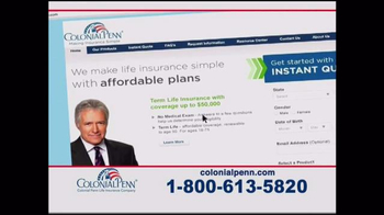 Colonial Penn TV Spot, 'A Company Who Can Help' Featuring Alex Trebek - Thumbnail 7