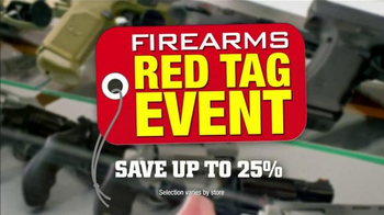 Gander Mountain Firearms Red Tag Event TV Spot, 'Save on Firearms and Ammo' - Thumbnail 9