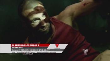 XFINITY Latino TV Spot, 'El Señor de Los Cielos 3 y Fugitivos' [Spanish] - Thumbnail 3