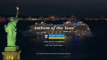 Royal Caribbean Cruise Lines TV Spot, 'Anthem of the Seas' Song by Queen - Thumbnail 7