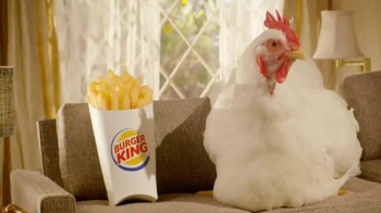 Burger King Chicken Fries TV Spot, 'Pregnant' - Thumbnail 1