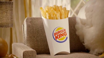 Burger King Chicken Fries TV Spot, 'Pregnant' - 7008 commercial airings