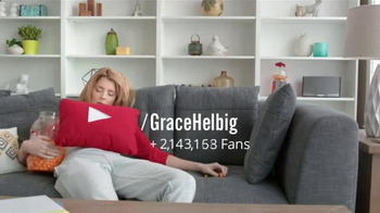 YouTube TV Spot, 'You Redefine Grace' Featuring Grace Helbig - Thumbnail 8