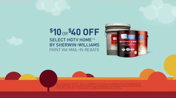 Lowe's Labor Day Savings TV Spot, 'Paint and Resurfacers' - Thumbnail 3