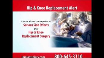 Gold Shield Group TV Spot, 'Hip & Knee Replacement Alert' - Thumbnail 1