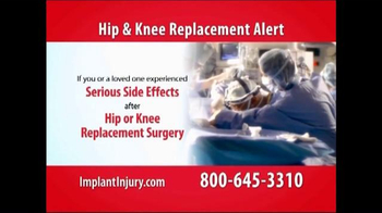 Gold Shield Group TV Spot, 'Hip & Knee Replacement Alert' - Thumbnail 2