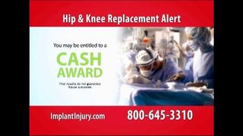 Gold Shield Group TV Spot, 'Hip & Knee Replacement Alert' - Thumbnail 3