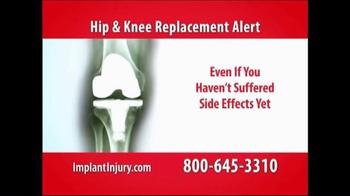 Gold Shield Group TV Spot, 'Hip & Knee Replacement Alert' - Thumbnail 6