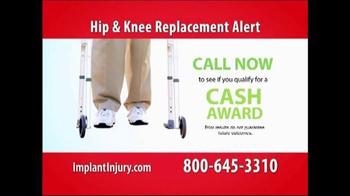 Gold Shield Group TV Spot, 'Hip & Knee Replacement Alert' - Thumbnail 7