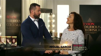 Revlon Luxurious ColorSilk Buttercream TV Spot, 'Fórmula Cremosa' [Spanish] - Thumbnail 1