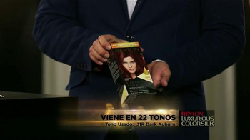 Revlon Luxurious ColorSilk Buttercream TV Spot, 'Fórmula Cremosa' [Spanish] - Thumbnail 4