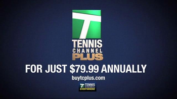 Tennis Channel Plus TV Spot, 'The Action is Hot' - Thumbnail 6