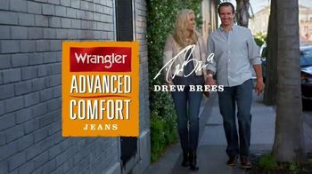 Wrangler Advance Comfort Jeans TV Spot, 'Out on the Town' Ft. Drew Brees - 1607 commercial airings