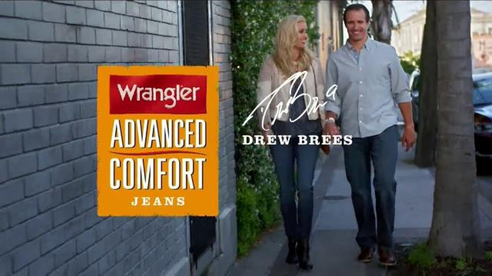 Wrangler Advance Comfort Jeans TV Commercial, 'Out on the Town' Ft. Drew Brees