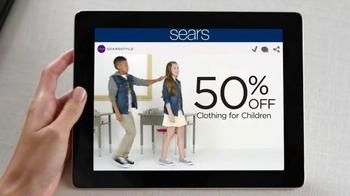 Sears Big 2-Day Sale TV Spot, 'Back to School' - Thumbnail 4