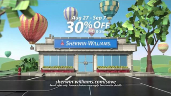 Sherwin-Williams Endless Summer Sale TV Spot, 'Paints & Stains' - Thumbnail 4