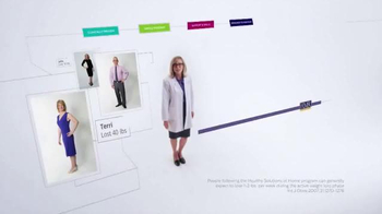 HMR Healthy Solutions TV Spot, 'Maintain Weight Loss' - Thumbnail 1