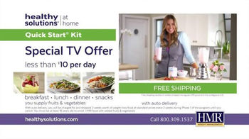 HMR Healthy Solutions TV Spot, 'Maintain Weight Loss' - Thumbnail 8