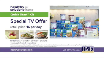HMR Healthy Solutions TV Spot, 'Maintain Weight Loss' - Thumbnail 7