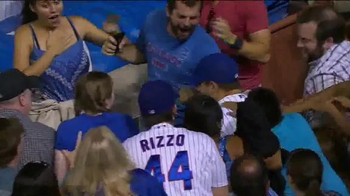 Major League Baseball TV Spot, '#THIS: Rizzo Balances on Tarp'
