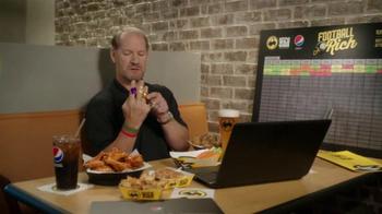 Buffalo Wild Wings TV Spot, 'Rich!' Feat. Steve Rannazzisi and Bill Cowher - Thumbnail 6