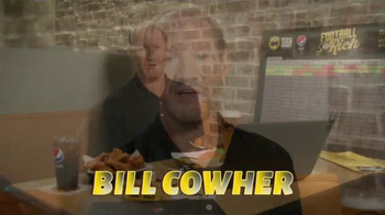 Buffalo Wild Wings TV Spot, 'Rich!' Feat. Steve Rannazzisi and Bill Cowher - Thumbnail 5