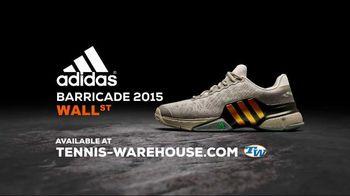 Tennis Warehouse TV Spot, 'adidas Barricade 2015 Wall Street: Ticker'