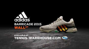 Tennis Warehouse TV Spot, 'adidas Barricade 2015 Wall Street: Ticker'