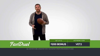 FanDuel Fantasy Football One-Week Leagues TV Spot, 'Get off the Sidelines' - Thumbnail 1