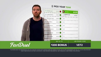 FanDuel Fantasy Football One-Week Leagues TV Spot, 'Get off the Sidelines' - Thumbnail 3