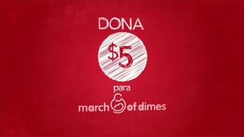 Macy's TV Spot, 'Compra por una causa: March of Dimes' [Spanish] - Thumbnail 1